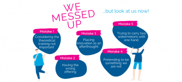 Learning from our mistakes!