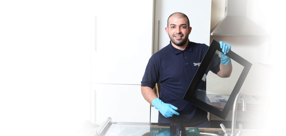 Fantastic Cleaners Professional Doing Oven Cleaning