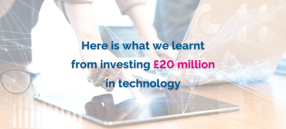 Investing in technology