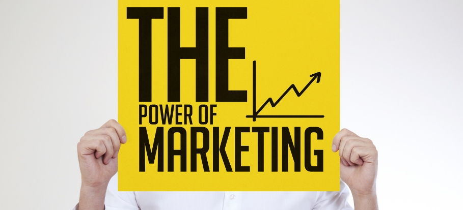 power of marketing blog article cover image