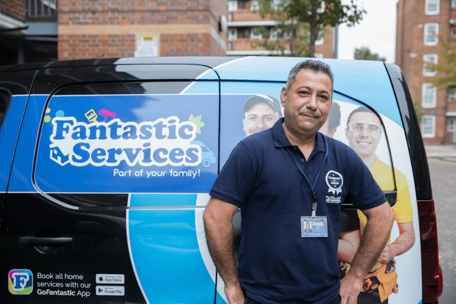 Fantastic Services Van