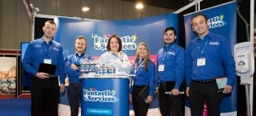 Fantastic Services' team expecting and leading the new future million-pound business owners